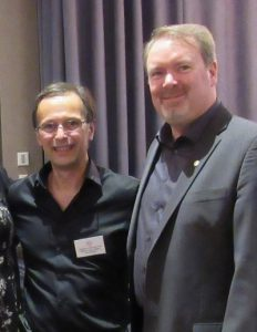 AEPQ President Guy Rochon & CPCA President Marcus Cormier
